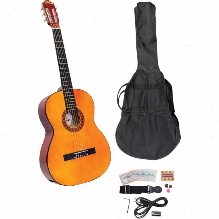 Pyle Pgckt40 39'' Classical Guitar Starter Package