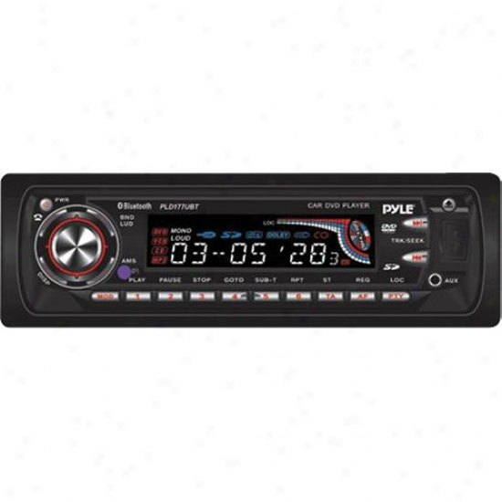 Pyle Pld177ubt In-dash Dvd Receiver For Car Video