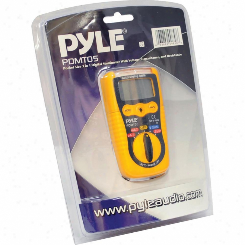 Pyle Pocketsize 3in1 Digital Mltmtr