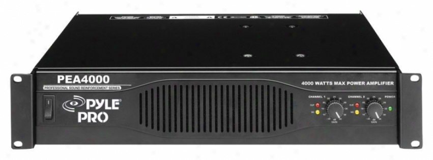 Pyle Professional 4000 Watts Stereo Power Amplifier