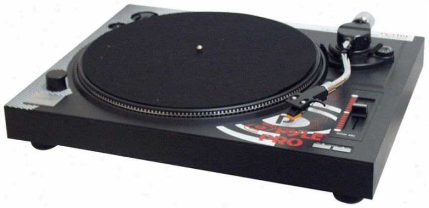Pyle Professional Belt-drive Turntable