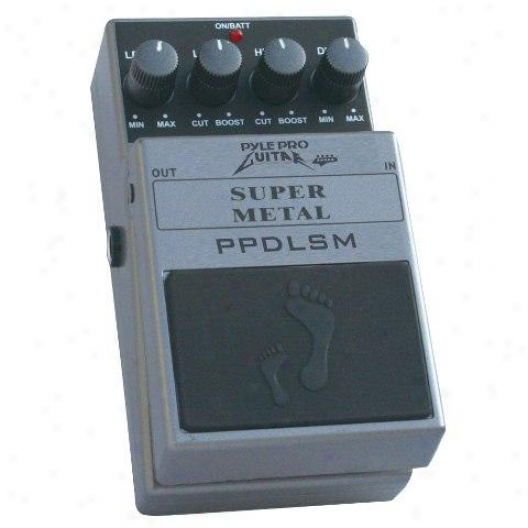 Pyle Super High-gain Distortion Goods Pedal
