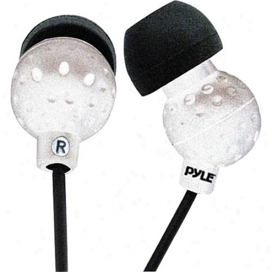 Pyle Ultra Slim In-ear Ear-buds Stereo Bass Headphones For Ipod/mp3/all Audio So
