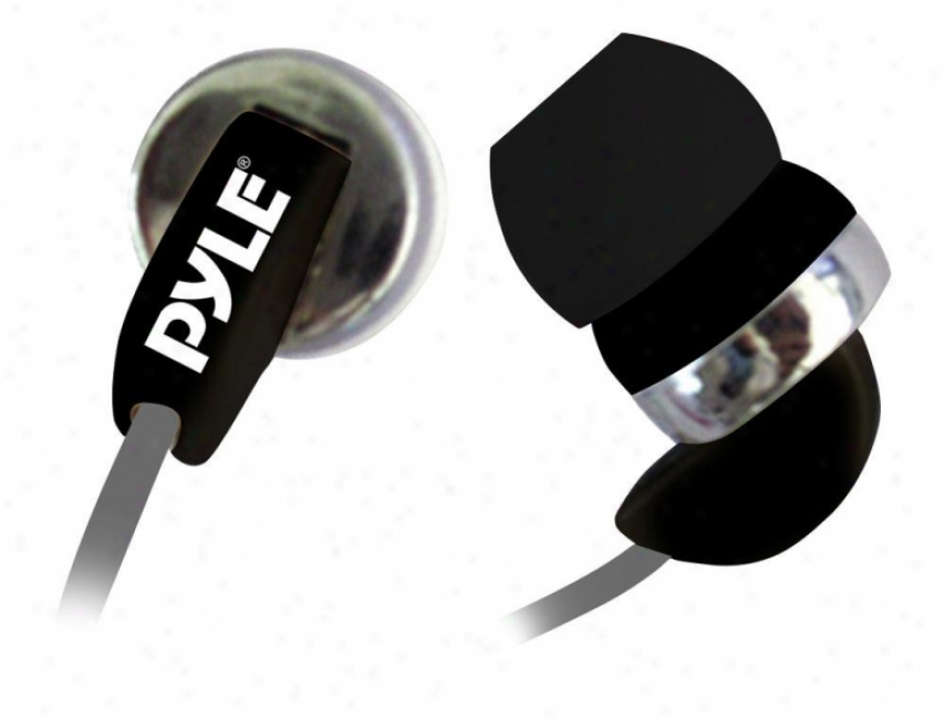 Pyle Ultra Slim In-ear Ear-buds Stereo Ultra Super Bass Headphones For Ipod/mp3/
