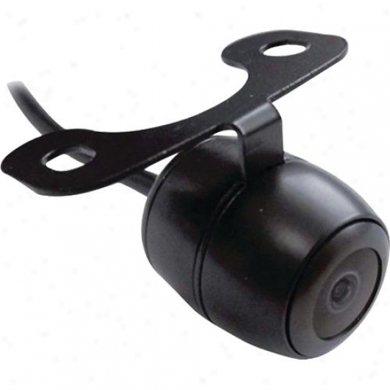 Pyle Universal Mount Optional Front View & Rear View Backup Color Cmd Camera