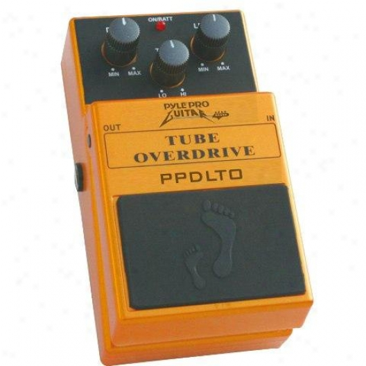Pyle Vintage Tube-sound Overdrive Pedal