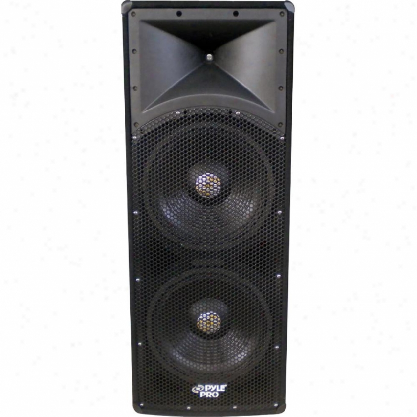"Pylepro 2000-watt Dual 18"" 3-way Pa Speaker Cabinet - Padh183"