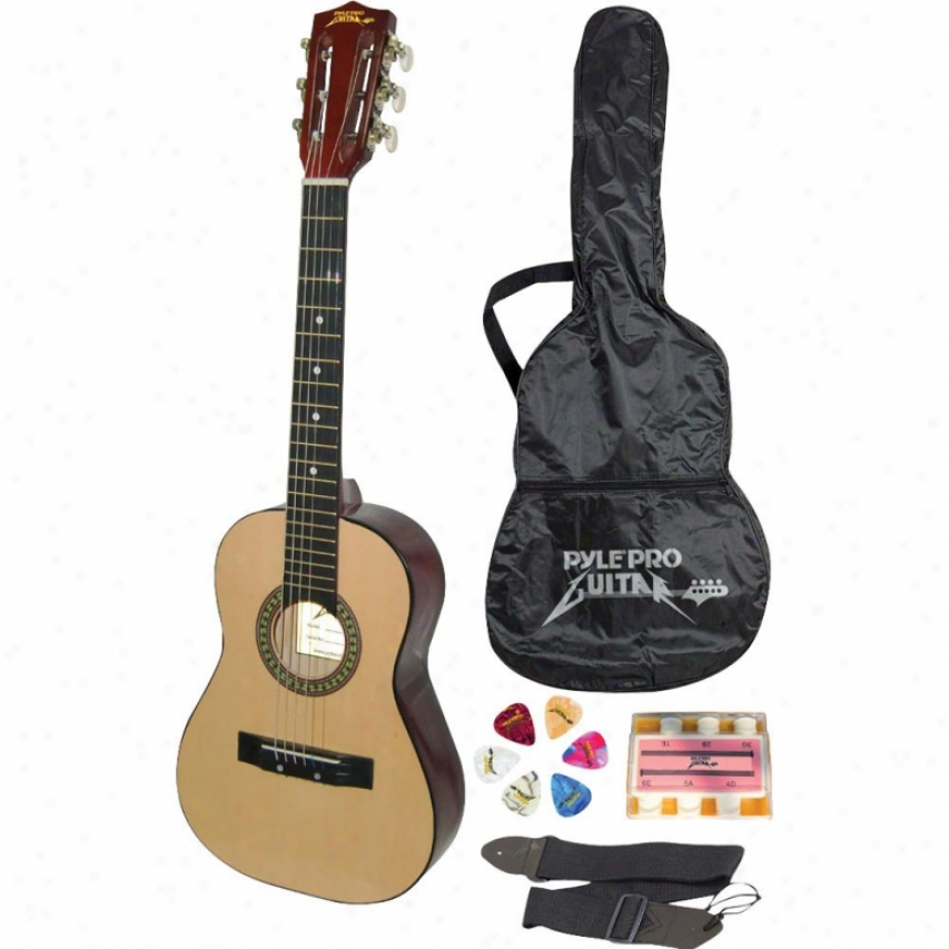 Pylepro 30-inch Beginner Jammer Acoustic Guitar - Pgakt30