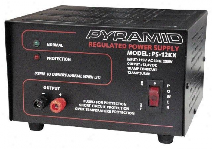 Pyramid 10 Amp Power Provide