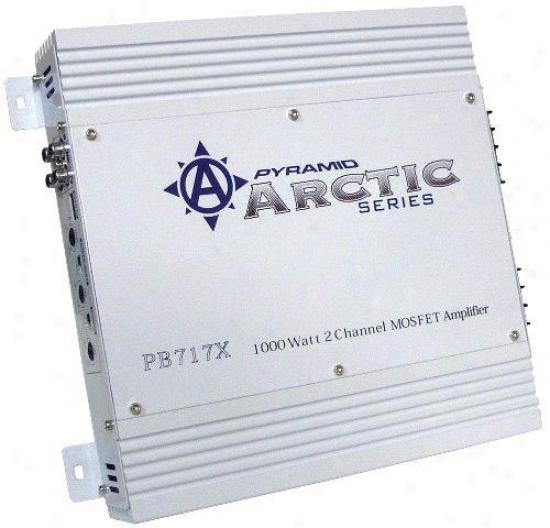 Pyramid 1000 Watt 2 Channel Bridgeable Mosfet Amplifier
