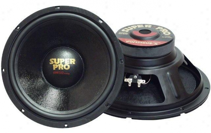 Pyramid 10'' 500 Watt High Performance 8 Ohm Subwoofer