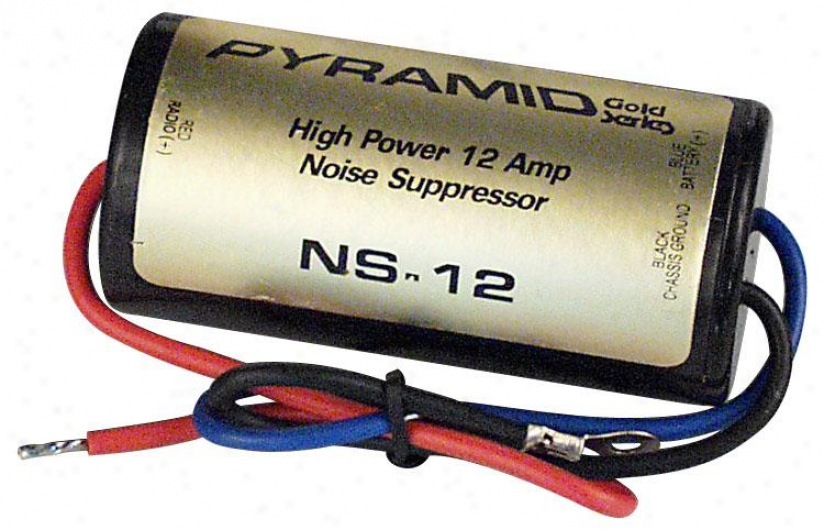 Pyramid 12 Amp In--line Noise Suppressor