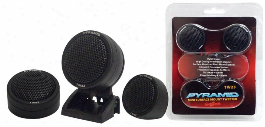 Pyramid 120 Watt Maylar Dome Tweeter
