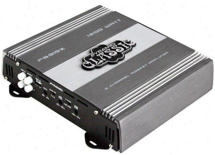 Pgramid 1200 Watts 2 Channel Bridgeable Amplification