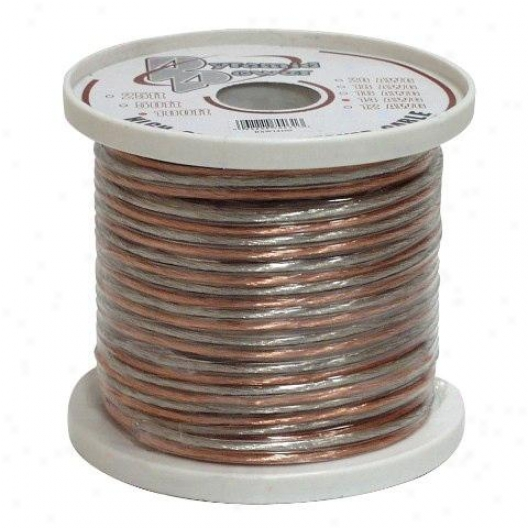 Pyramis 18 Gauge 100 Ft. Spool Of High Quality Speaker Zip Wire