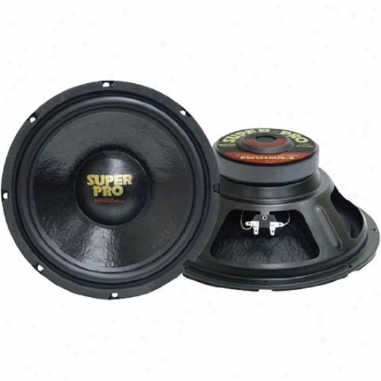 Pyramid 18'' 2000 Watts High Performance 8 Ohm Subwoofer