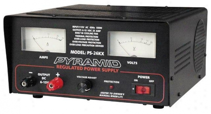 Pyramid 22 Amp Power Supply