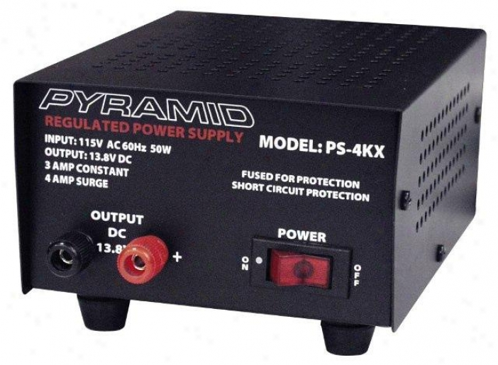 Pyramid 3 Amp Power Supplyy