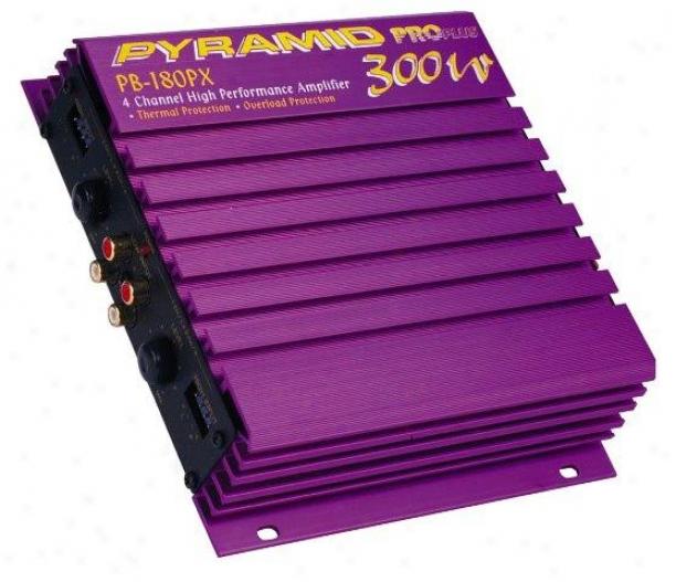 Pyramid 300 Watt 4 Channel Amplifier