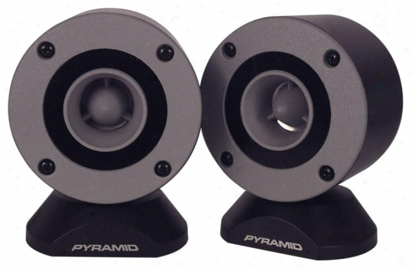 Pyramid 300 Watt Aluminum Bullet Horn In Enclosure W/swivel Housing