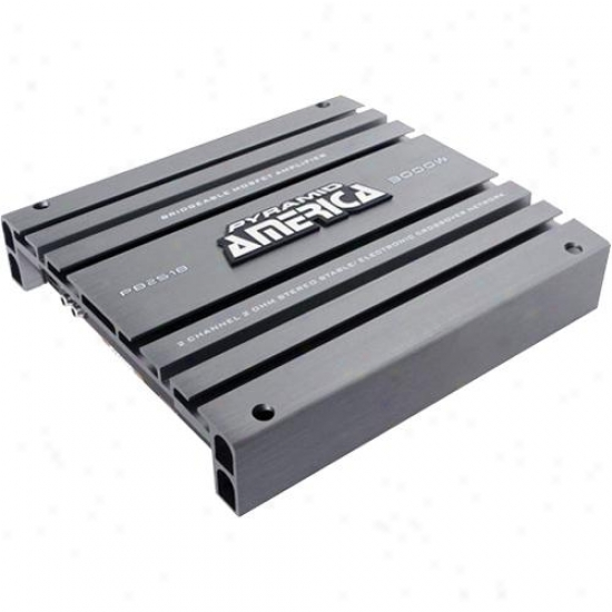 Pyramid 3000 Watt 2 Channel Bridgeable Mosfet Amplifier