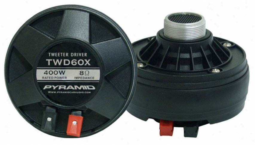 Pyramid 400 Watt Mid/tweeter Compression Driver