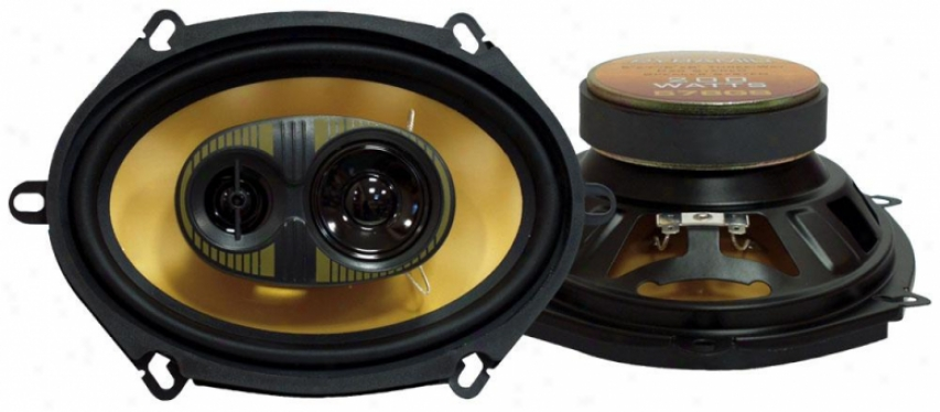 Pyramid 5'' X 7''/6'' X 8'' 209 Watts Three-way Speakers