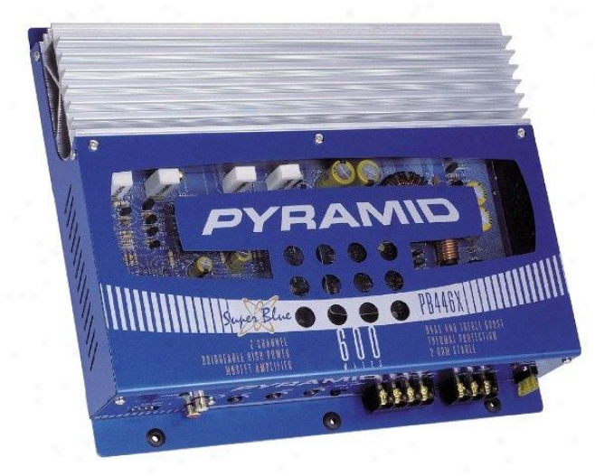 Pyramid 600 Watt 2 Passage Mosfet Amplifier
