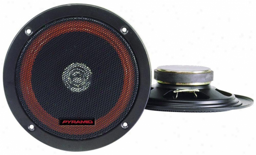 Pyramid 6.5'' 100 Watts Two-way Dual Cone Speakers W/built-in Grill