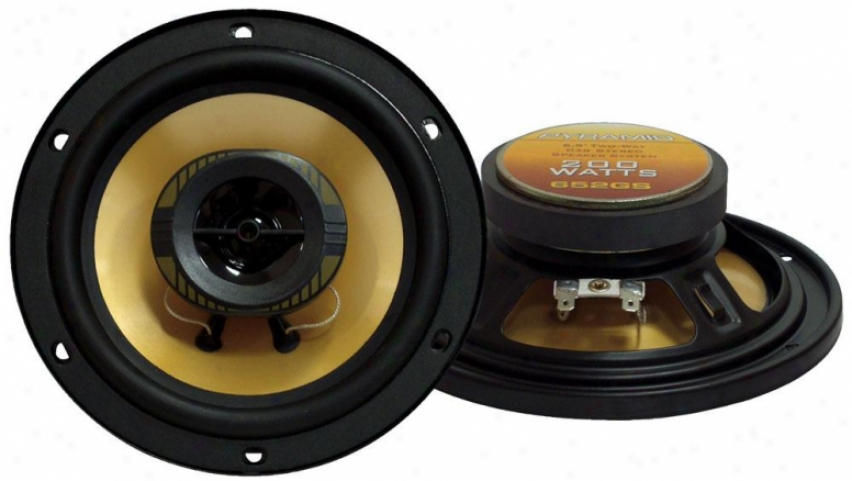 Pyramid 6.5'' 200 Watts Twow-ay Speakers