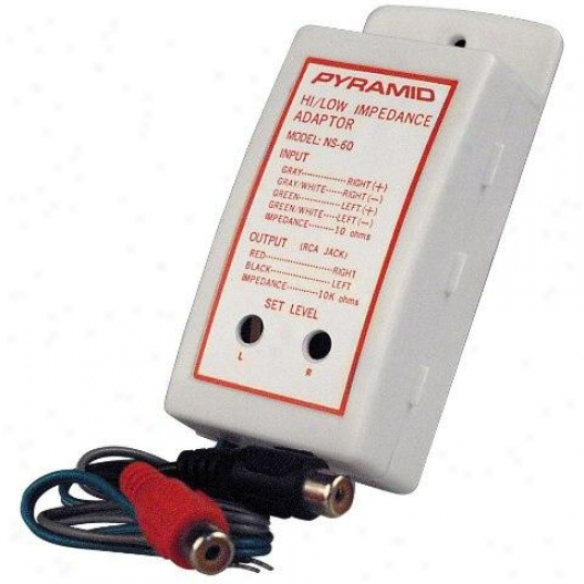 Pyramid High To Low Levek Impedance Adaptor