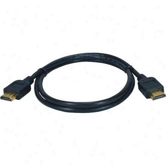 Qvs High Speed Hdmi With 3d Blu-ray 1080p Cbale - 9.8 Ft