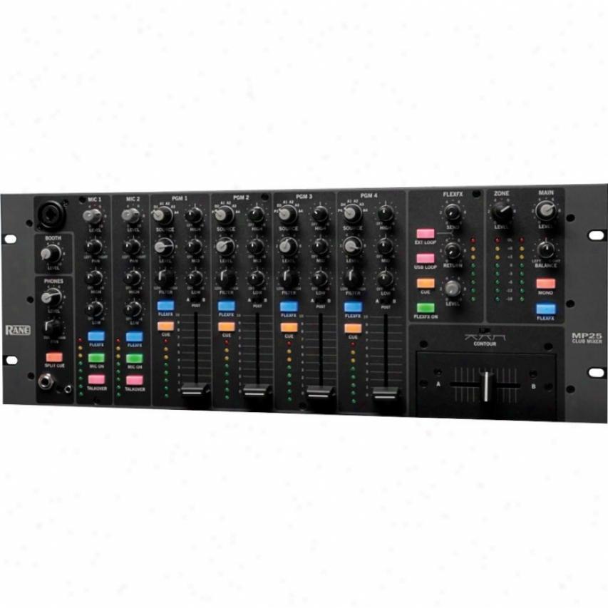 Rane Mp25 4-channel 19-inch Club Mixer