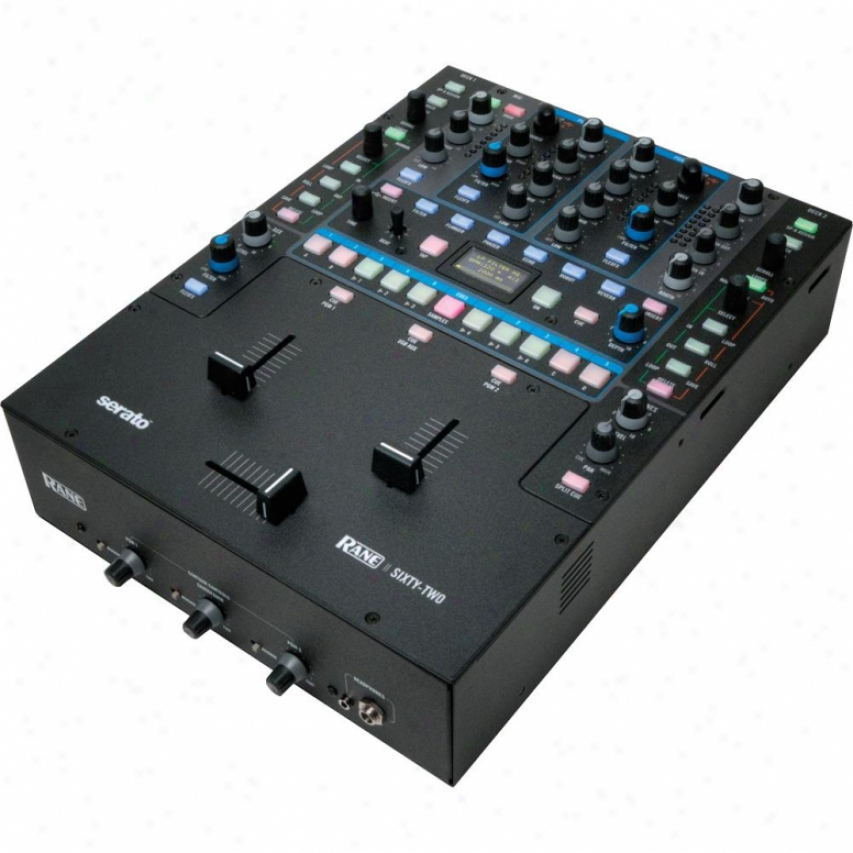 Rane Sixty-two Performance Mixer With Serato Live