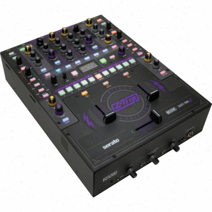 Rane Sixty-two Z Performance Mixer With Serato Live