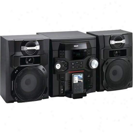Rca 5-cd Mini Audio System With Ipod Dock - Rs2768i