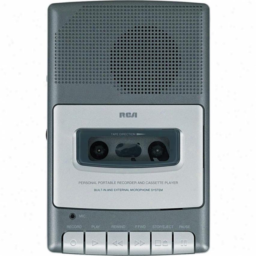 Rca Cassette Shoebpx Voice Recorder - Rp3504