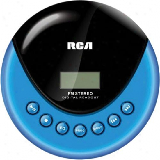 Rca Rp3013 Porrtable Cd Player With Fm Radio