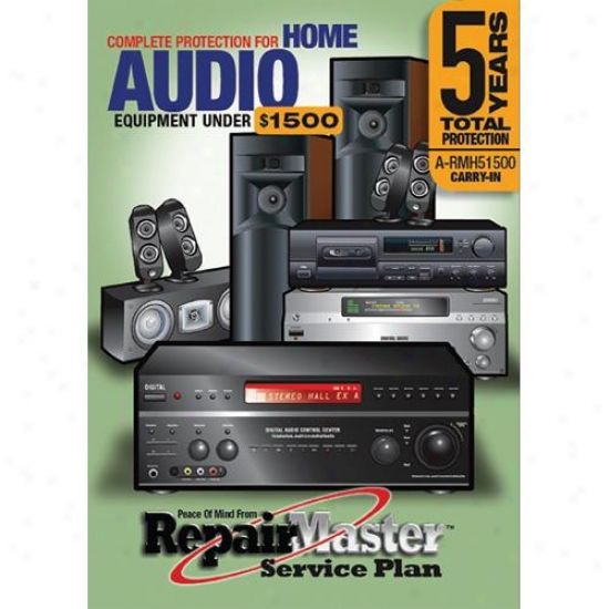 Repair Master A-rmh51500 5-year Warranty Service Plan