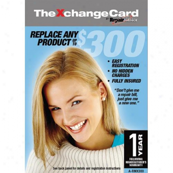 Repair Master A-rkx300 Xchangecard 1-year Warranty Replacement Service Plan