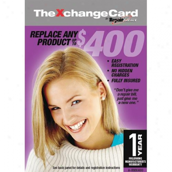 Restoration Mastr A-rmx400 Xchangecard 1-year Wzrranty Replacement Service Plan