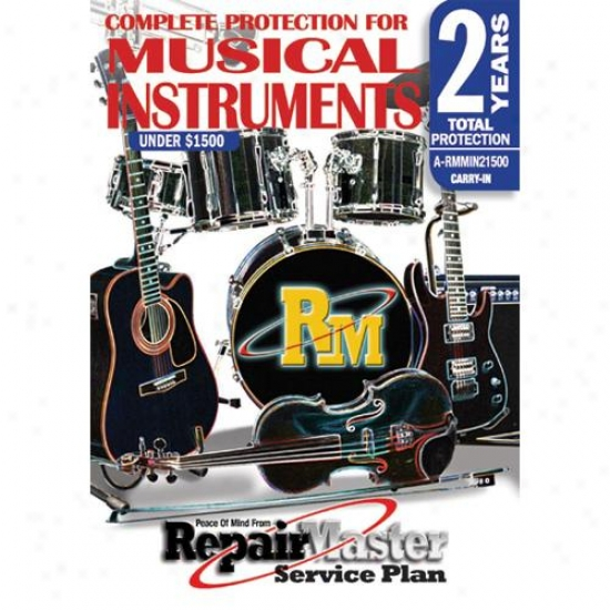 Retrieve Master Music Instrument Duty Coverage Extension - 2 Years