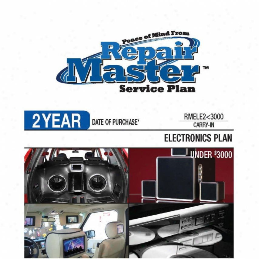 Repair Master Rmele2u3000 2-year Electronics Warranty Service Plan