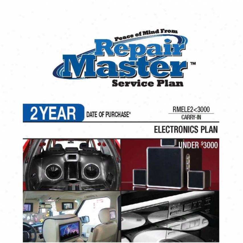 Repair Master Rmele2u3000 2-year Electronics Warranty Service Plan