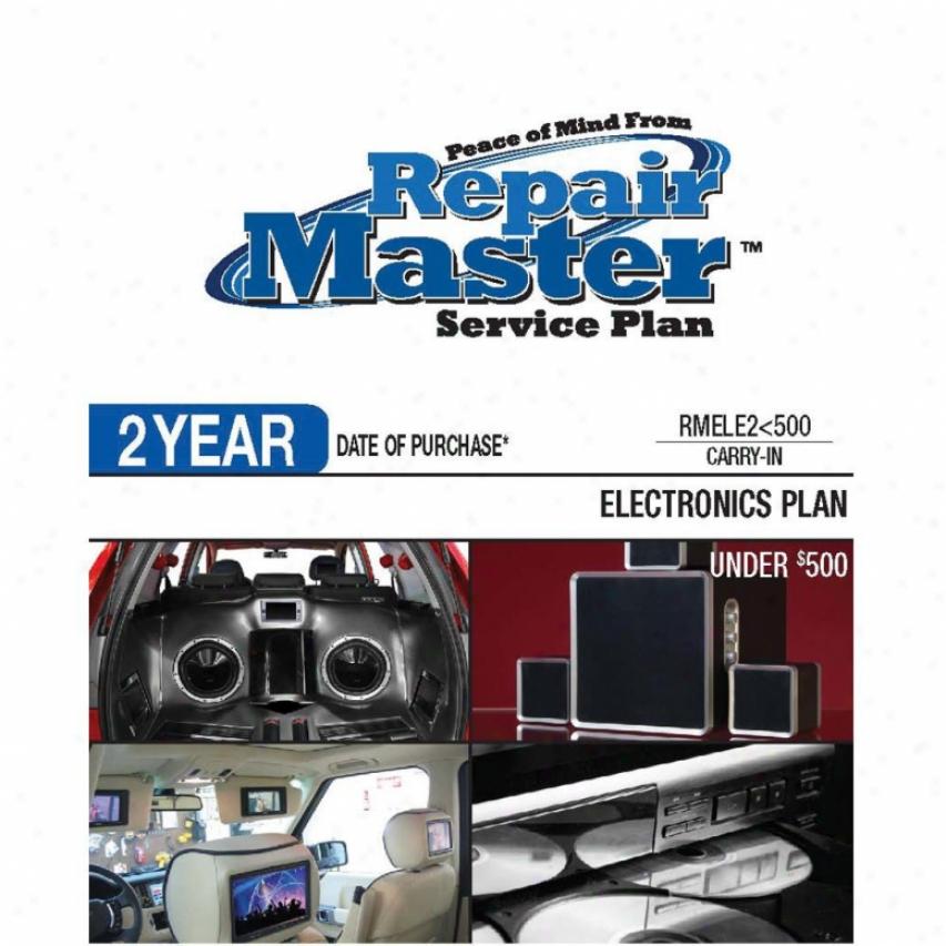 Go Master Rmele2u500 2-year Electronics Warranty Service Plan