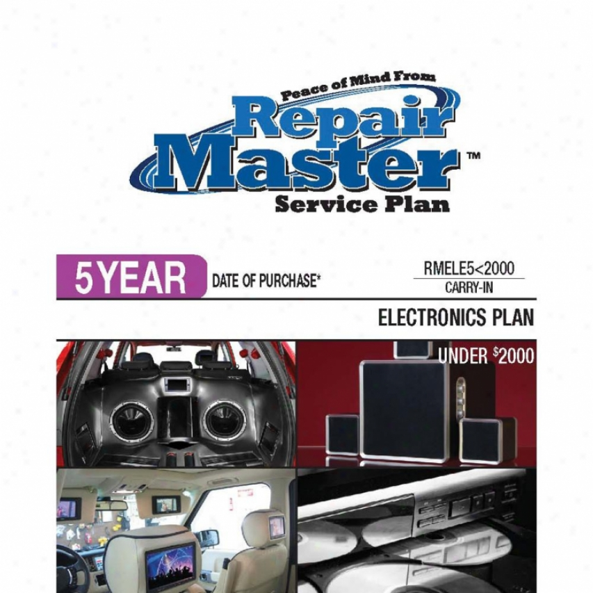 Repair Master Rmele5u2000 5-year Electronics Warranty Service Plan