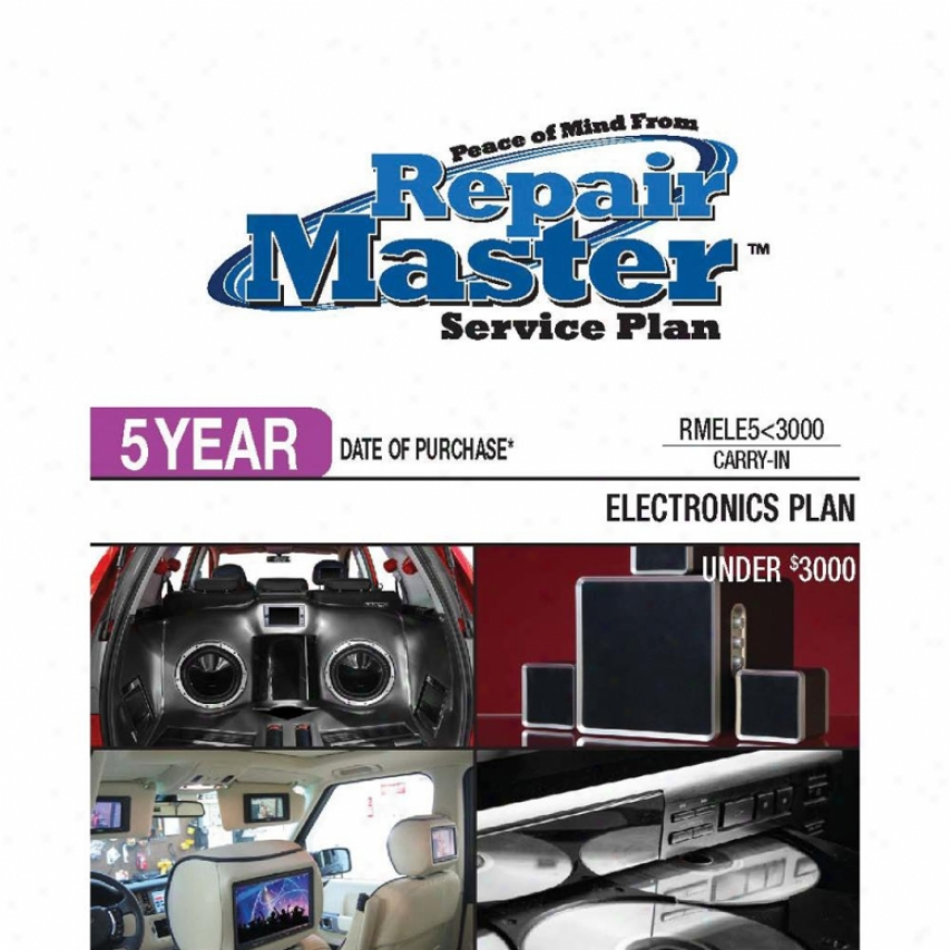 Repair Master Rmele5u3000 5-year Electronics Warranty Benefit Plan