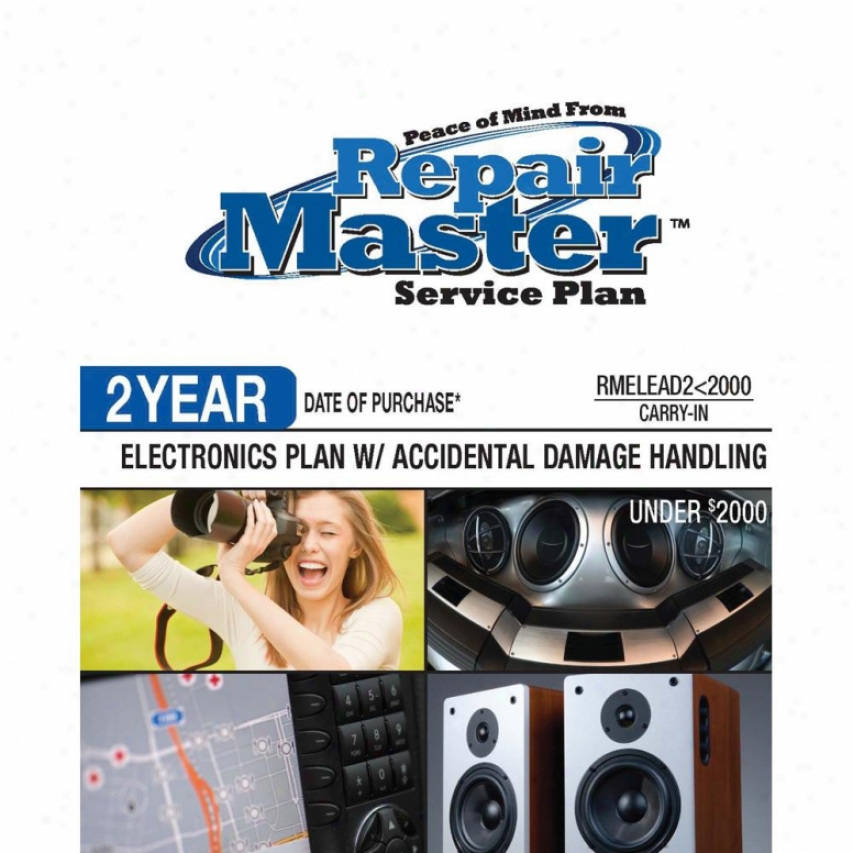 Repair Master Rmelead2u2000 2-yeaf Electrronics Accidental Damage Plan