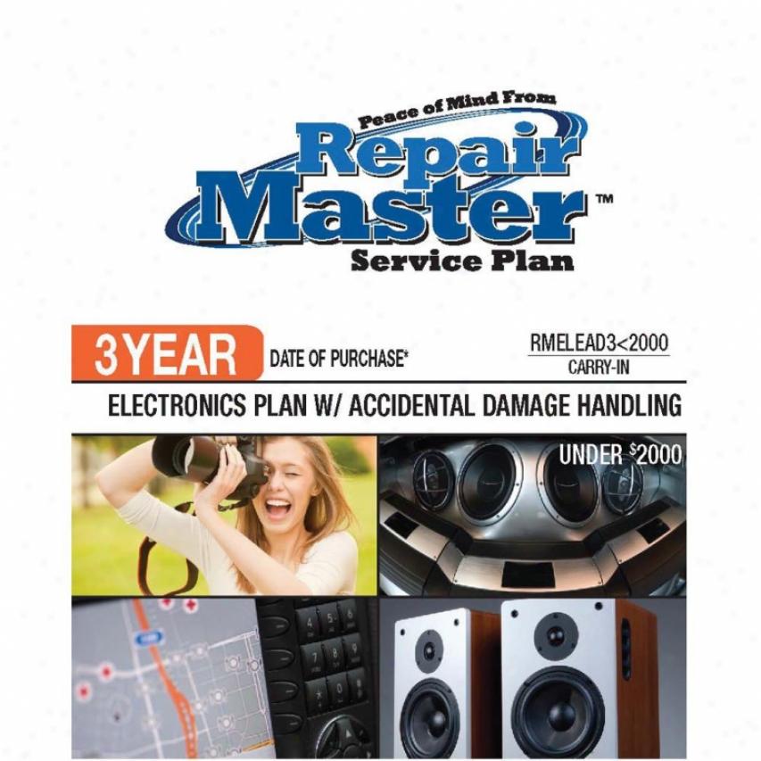 Repair Master Rmeleadu2000 3-year Electronics Warranty Servce Plan