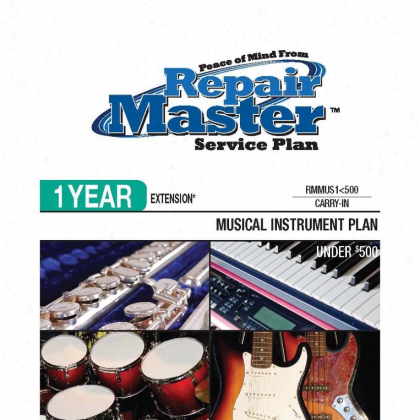 Repair Master Rmmus1u500 1-year Musical Instruments Warrangy Extension Plan
